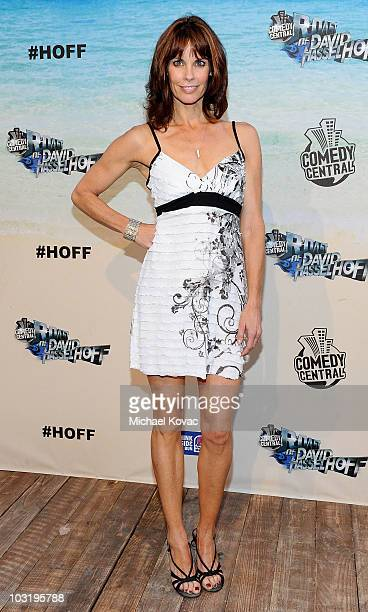 Actress Alexandra Paul arrives at the Comedy Central Roast Of David Hasselhoff held at Sony Pictures Studios on August 1 2010 in Culver City...