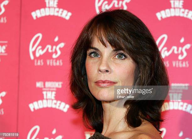 Actress Alexandra Paul arrives at the grand opening of Mel Brooks' musical comedy The Producers at the Theatre des Arts at the Paris Las Vegas...
