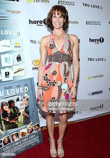 Actress Alexandra Paul arrives at the premiere of Regent Entertainment's 'Tru Loved' held at the Regent Showcase Theater on October 11 2008 in Los...