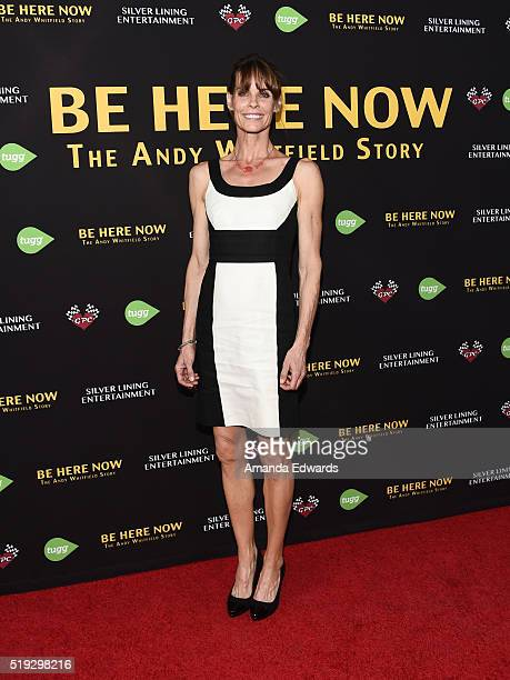 Actress Alexandra Paul arrives at the premiere of Silver Lining Entertainment's 'Be Here Now' at the UTA Theater on April 5 2016 in Los Angeles...