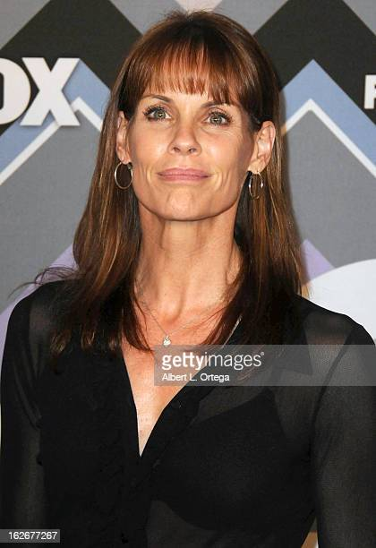 Actress Alexandra Paul arrives for The 2013 TCA Winter Press Tour FOX AllStar Party held at The Langham Huntington Hotel and Spa on January 8 2013 in...