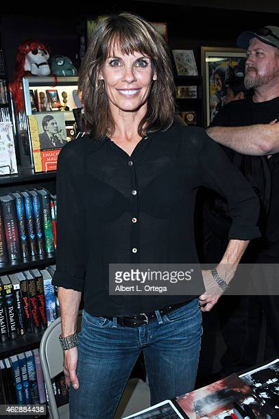 Actress Alexandra Paul at the Second Annual David DeCoteau's Day Of The Scream Queens held at Dark Delicacies Bookstore on January 25 2015 in Burbank...
