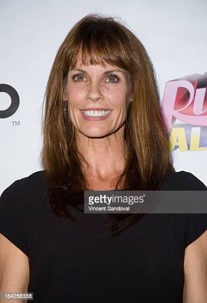 Actress Alexandra Paul attends Rupaul's Drag Race All Stars Premiere Party at The Abbey on October 16 2012 in West Hollywood California