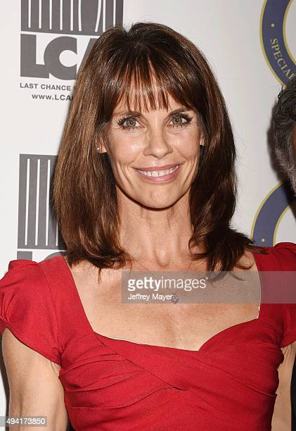 Actress Alexandra Paul attends the Last Chance for Animals Benefit Gala at The Beverly Hilton Hotel on October 24 2015 in Beverly Hills California