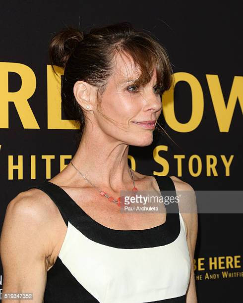 Actress Alexandra Paul attends the premiere of Be Here Now from Silver Lining Entertainment at UTA Theater on April 5 2016 in Los Angeles California