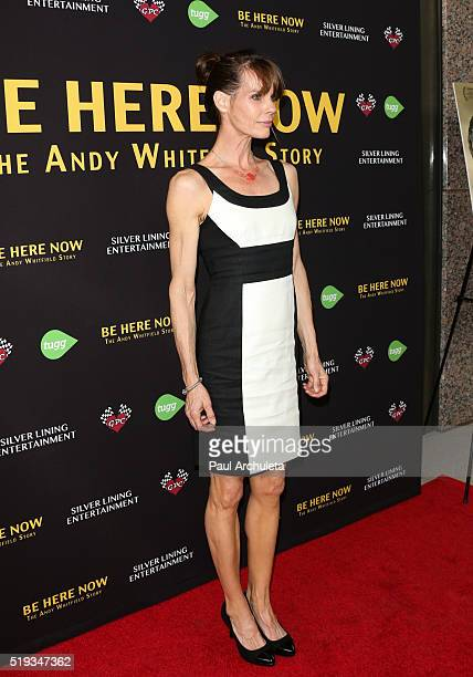 Actress Alexandra Paul attends the premiere of 'Be Here Now' from Silver Lining Entertainment at UTA Theater on April 5 2016 in Los Angeles California
