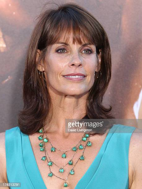 Actress Alexandra Paul attends the premiere of Universal Pictures' Riddick at the Mann Village Theatre on August 28 2013 in Westwood California