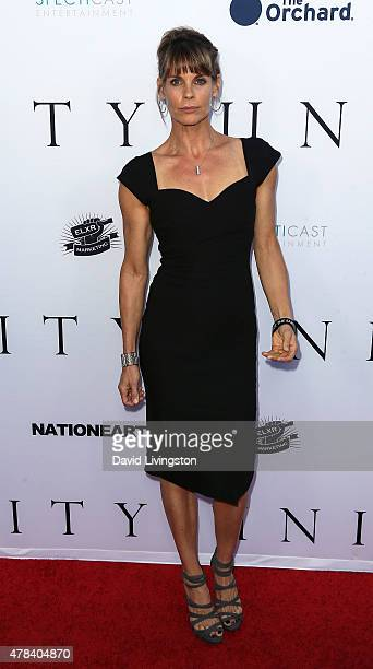 Actress Alexandra Paul attends the world premiere screening of the documentary Unity at the DGA Theater on June 24 2015 in Los Angeles California