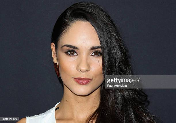 Actress Alexandra Pomales attends Latina Magazine's 30 Under 30 celebration at SkyBar at the Mondrian Los Angeles on November 13 2014 in West...