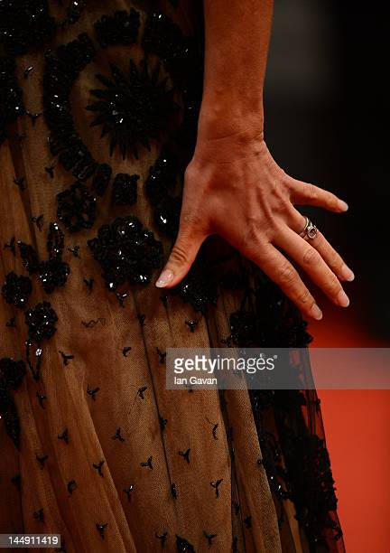 Actress Alexandra Rapaport attends the 'Jagten' Premiere during the 65th Annual Cannes Film Festival at Palais des Festivals on May 20 2012 in Cannes...