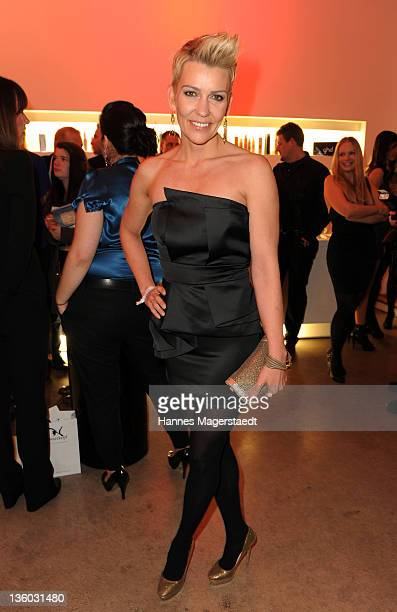 Actress Alexandra Rietz attends the ABC For Kids Charity Event at the baSH Club on December 16, 2011 in Munich, Germany.