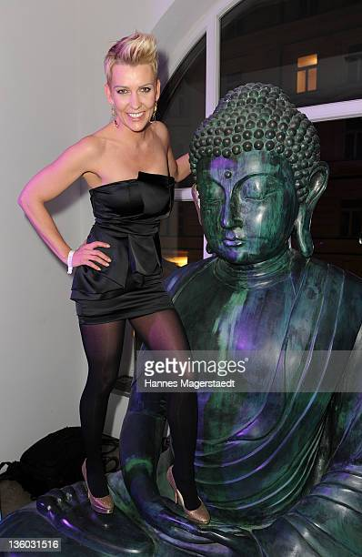 Actress Alexandra Rietz attends the ABC For Kids Charity Event at the baSH Club on December 16 2011 in Munich Germany