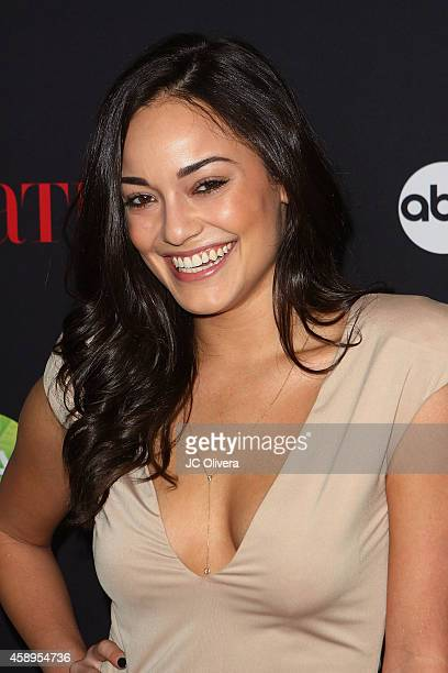 Actress Alexandra Rodriguez attends LATINA Magazine's '30 Under 30' Celebration at SkyBar at the Mondrian Los Angeles on November 13 2014 in West...
