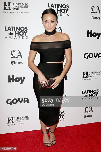 Actress Alexandra Rodriguez attends The Los Angeles Times and Hoy 2015 Latinos de Hoy Awards at Dolby Theatre on October 11 2015 in Hollywood...
