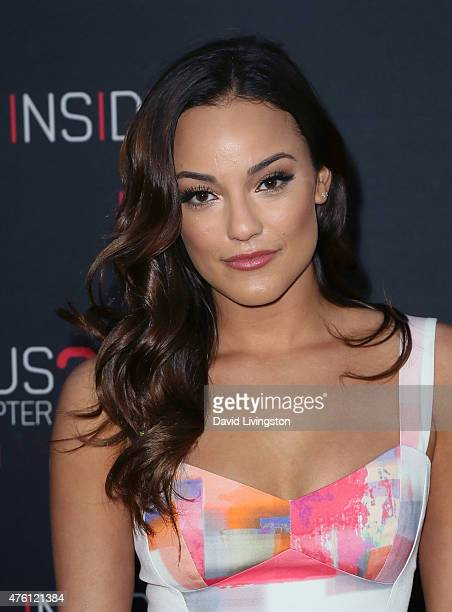 Actress Alexandra Rodriguez attends the premiere of Focus Features' 'Insidious Chapter 3' at the TCL Chinese Theatre on June 4 2015 in Hollywood...