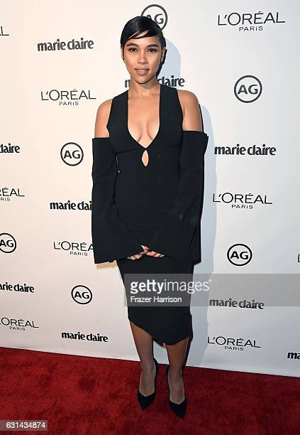 Actress Alexandra Shipp attends Marie Claire's Image Maker Awards 2017 at Catch LA on January 10 2017 in West Hollywood California