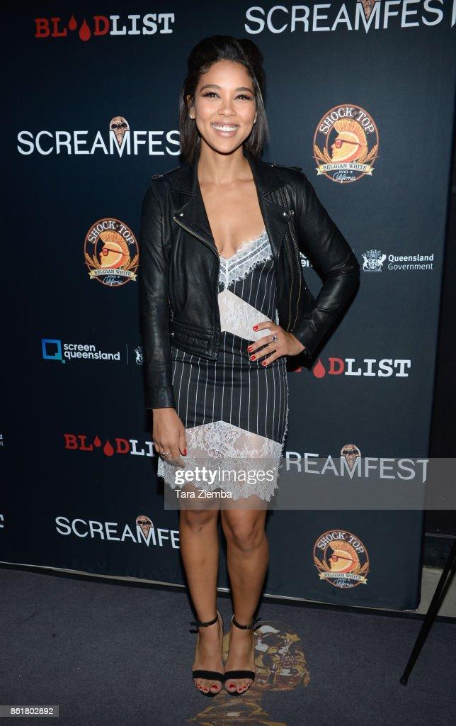 "2017 Screamfest Horror Film Festival - Premiere Of ""Tragedy Girls"" - Arrivals"