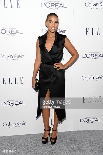Actress Alexandra Shipp attends the 22nd Annual ELLE Women in Hollywood Awards at Four Seasons Hotel Los Angeles at Beverly Hills on October 19 2015...