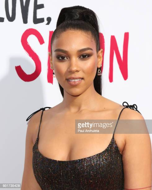 Actress Alexandra Shipp attends the 'Love Simon' special screening at the Westfield Century City on March 13 2018 in Century City California