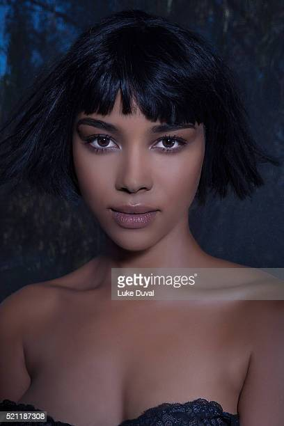 Actress Alexandra Shipp is photographed for VVV Magazine on November 13 2015 in Los Angeles California