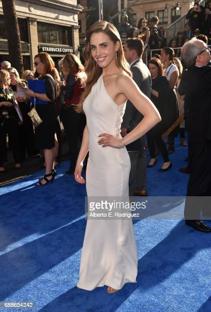 Actress Alexandra Siegel attends the premiere of Warner Bros Pictures' 'Wonder Woman' at the Pantages Theatre on May 25 2017 in Hollywood California