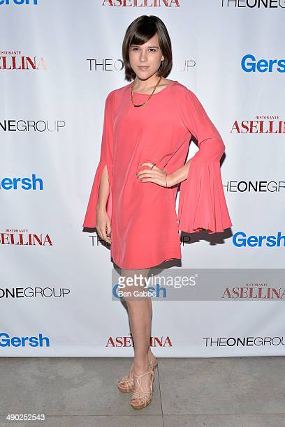 Actress Alexandra Socha attends the Gersh New York Upfronts Party at Asellina at the Gansevoort on May 13 2014 in New York City