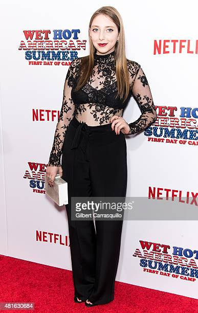Actress Alexandra Stamler attends the 'Wet Hot American Summer: First Day of Camp' Series Premiere at SVA Theater on July 22, 2015 in New York City.