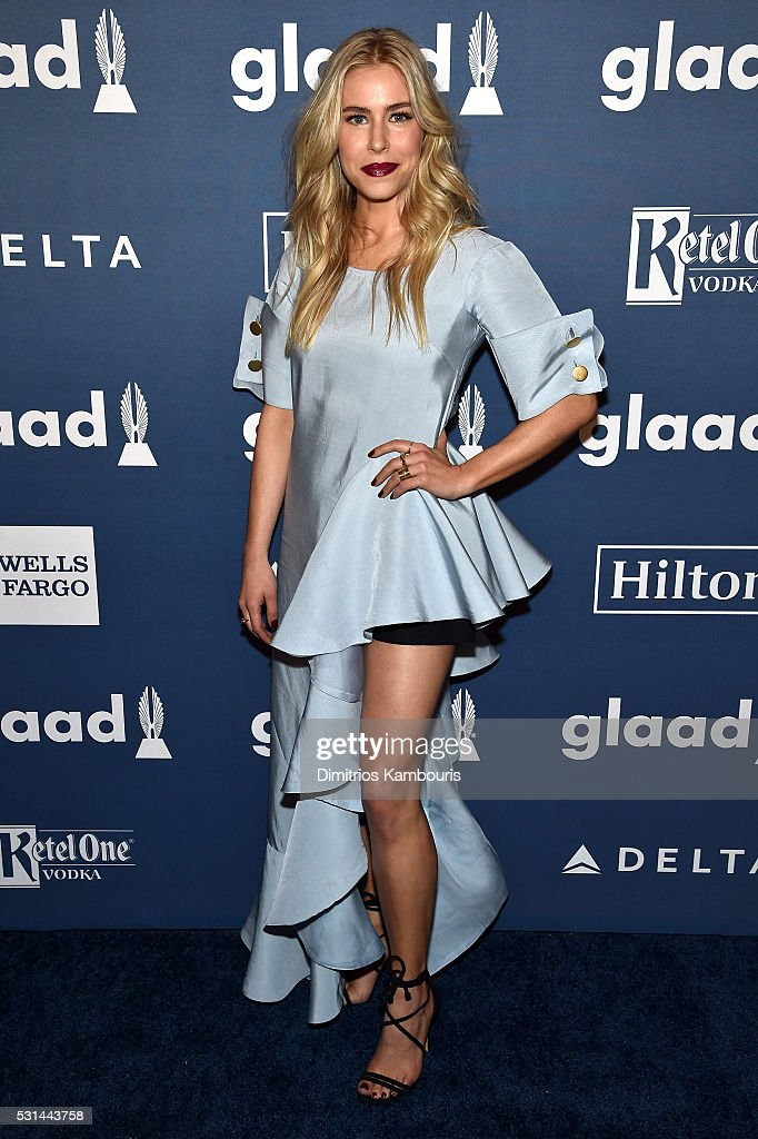 Actress Alexandra Turshen attends the 27th Annual GLAAD Media Awards in New York on May 14, 2016 in New York City.