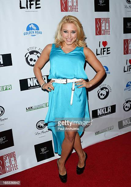 Actress Alexandra Vino attends the No Kill LA charity event at Fred Segal on April 2 2013 in West Hollywood California