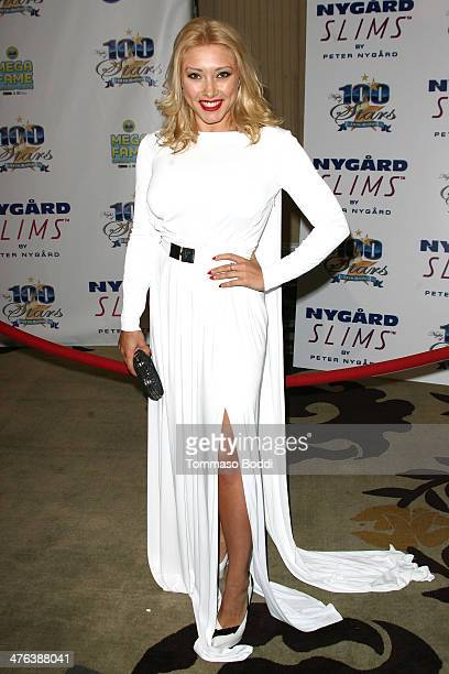 Actress Alexandra Vino attends the Norby Walters' 24nd annual Night Of 100 Stars Oscar viewing gala held at the Beverly Hills Hotel on March 2 2014...