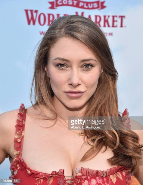 Actress Alexandra Vino attends the premiere of Columbia Pictures' 'Peter Rabbit' at The Grove on February 3 2018 in Los Angeles California
