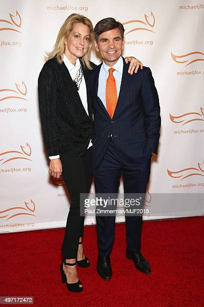 """Actress Alexandra Wentworth and journalist George Stephanopoulos attends the Michael J Fox Foundation """"A Funny Thing Happened On The Way To Cure..."""