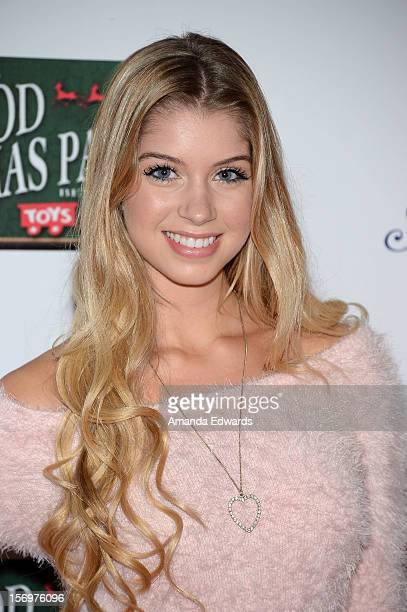 Actress Alexandria DeBerry arrives at the 2012 Hollywood Christmas Parade Benefiting Marine Toys For Tots on November 25 2012 in Hollywood California