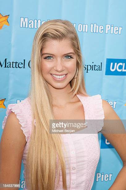 Actress Alexandria DeBerry attends Mattel Party On The Pier Benefiting Mattel Children's Hospital UCLA Red Carpet at Pacific Park at Santa Monica...