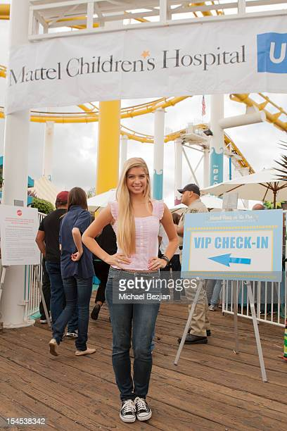 Actress Alexandria DeBerry attends Mattel Party On The Pier Benefiting Mattel Children's Hospital UCLA Inside at Pacific Park – Santa Monica Pier on...