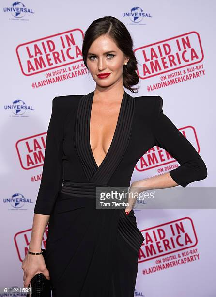 Actress Alexanne Wagner attends the premiere of 'Laid In America' at AMC Universal City Walk on September 28 2016 in Universal City California