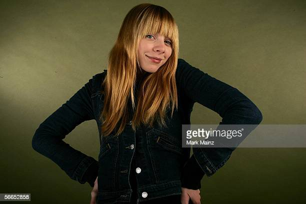 Actress Alexi Wasser of the film 'Art School Confidential' poses for a portrait at the Getty Images Portrait Studio during the 2006 Sundance Film...