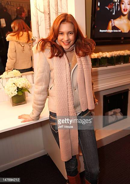 Actress Alexia Fast at the Entertainment Weekly WOW Party at The Lift on January 17 2009 in Park City Utah