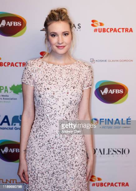 Actress Alexia Fast attends the 8th Annual UBCP/ACTRA Awards at Vancouver Playhouse on November 23 2019 in Vancouver Canada