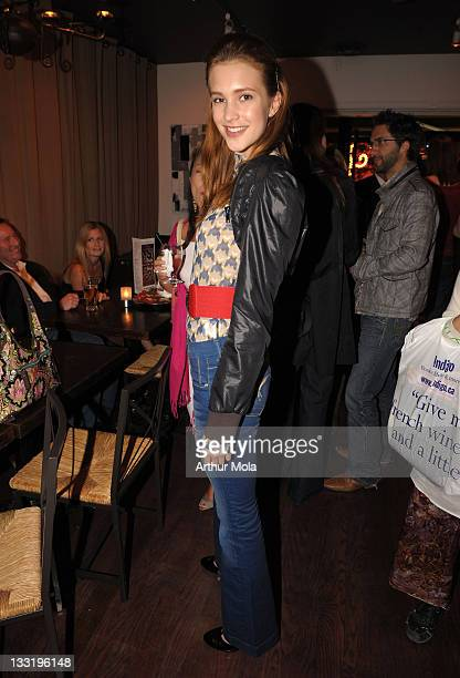 Actress Alexia Fast attends the 'Hungry Hills' after party at Fire on the Eastside during the 2009 Toronto International Film Festival on September...