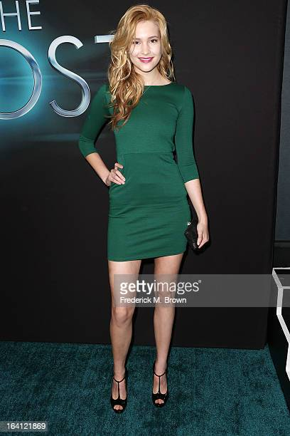 Actress Alexia Fast attends the Premiere of Open Roads Films 'The Host' at the ArcLight Cinemas Cinerama Dome on March 19 2013 in Hollywood California