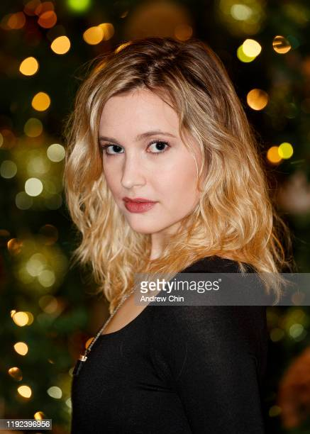 Actress Alexia Fast poses for a portrait during 2019 Whistler Film Festival at the Fairmont Chateau Whistler on December 06 2019 in Whistler Canada