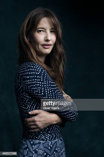 Actress Alexia Landeau is photographed on September 10 2015 in Deauville France