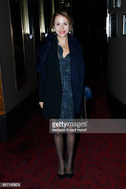Actress Alexie Ribes attends the Reopening of the Hotel Barriere Le Fouquet's Paris decorated by Jacques Garcia at Hotel Barriere Le Fouquet's Paris...