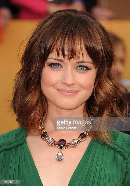Actress Alexis Bledel arrives at the 19th Annual Screen Actors Guild Awards held at The Shrine Auditorium on January 27 2013 in Los Angeles California