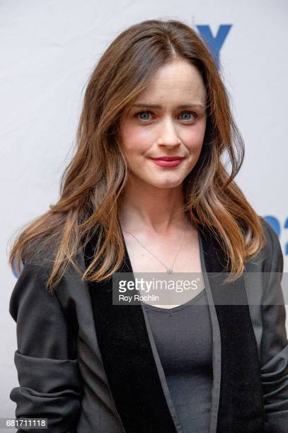 Actress Alexis Bledel attend 92Y Presents Hulu's The Handmaid's Tale at 92nd Street Y on May 10 2017 in New York City