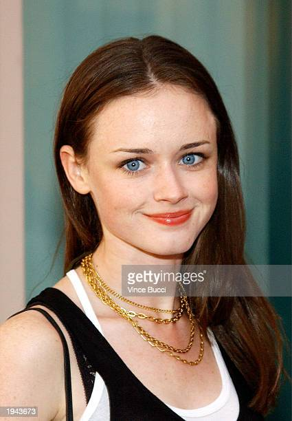 Actress Alexis Bledel attends a behind the scenes discussion of the television show Gilmore Girls at the Academy of Television Arts and Sciences on...