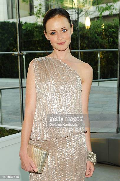 Actress Alexis Bledel attends the 2010 CFDA Fashion Awards at Alice Tully Hall Lincoln Center on June 7 2010 in New York City