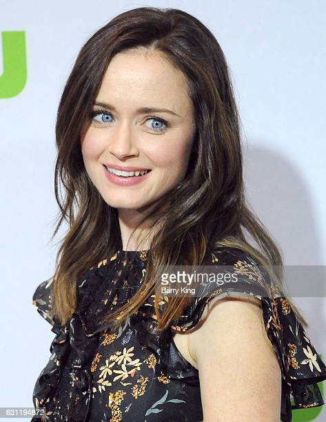 Actress Alexis Bledel attends the 2017 Winter TCA Tour Hulu TCA Winter Press Tour Day at Langham Hotel on January 7 2017 in Pasadena California