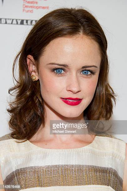 Actress Alexis Bledel attends the 27th annual Lucille Lortel Awards at the NYU Skirball Center on May 6 2012 in New York City